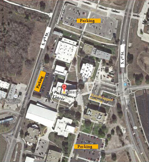 Temple College Parking Map