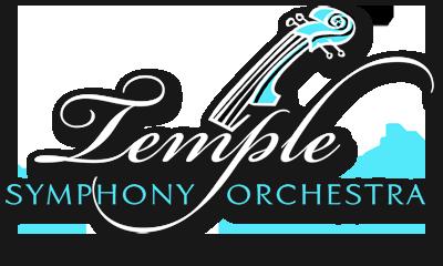 Temple Symphony Orchestra Logo